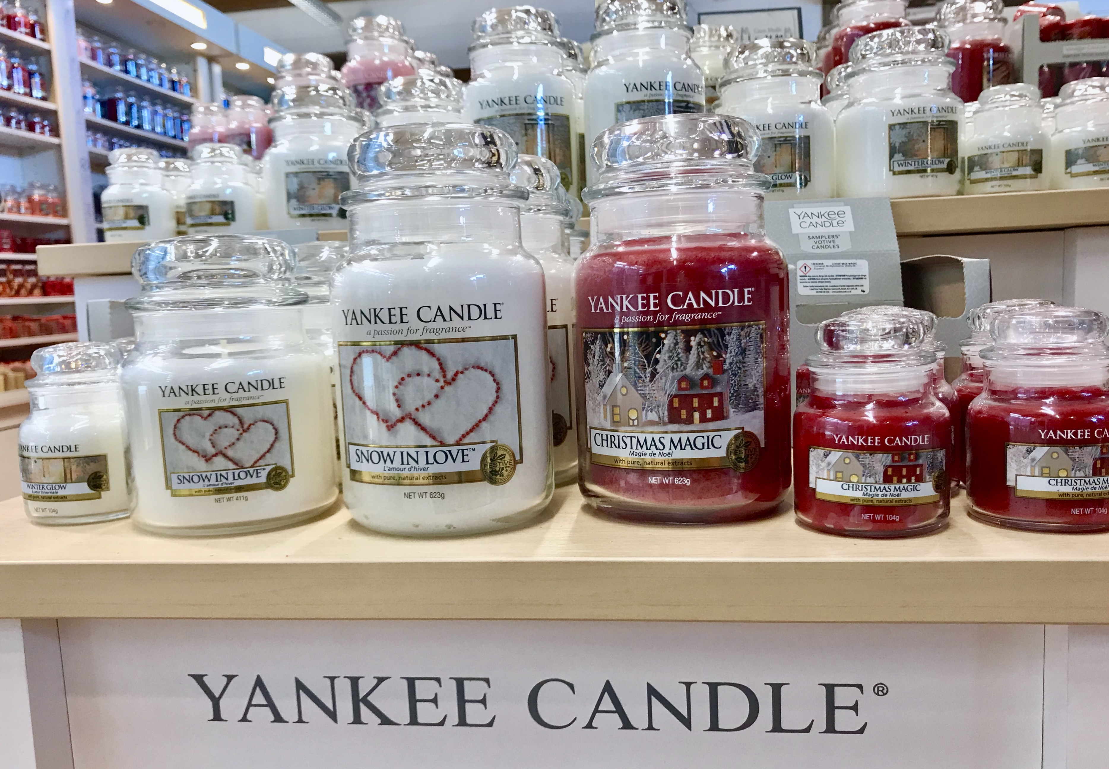 Yankee Candle Christmas Edition